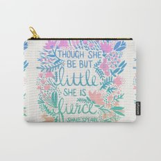 Little & Fierce – Lavender Mint Ombré Carry-All Pouch