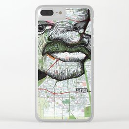 Sacramento, California Clear iPhone Case