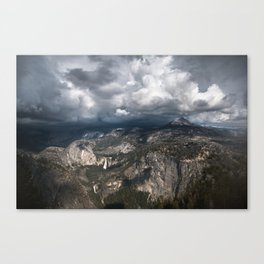 Storm Over Yosemite Canvas Print