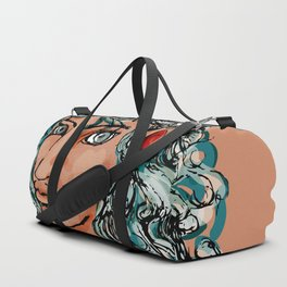 Female elf profile 1d ver. 2 Duffle Bag