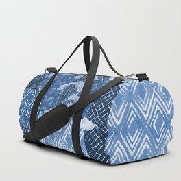 Shibori Quilt Duffle Bag