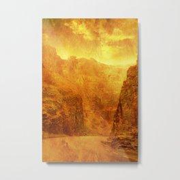 Scorching Gorge. Metal Print