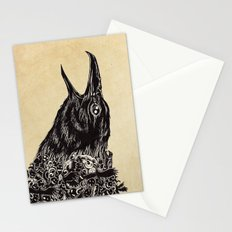 CROW-ded Stationery Cards