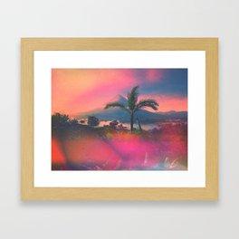 Volcan Arenal Framed Art Print