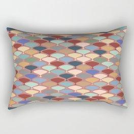 Retro Orchard Rectangular Pillow