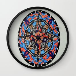 Anchors and Chains Wall Clock