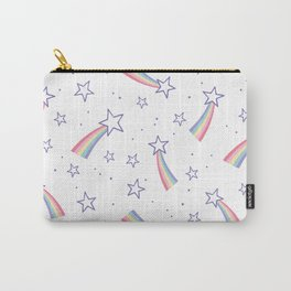 Rainbow stars pattern Carry-All Pouch