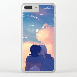 As Many Time as it takes Clear iPhone Case