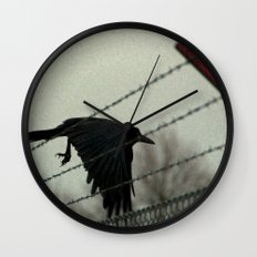 No fences can hold me Wall Clock