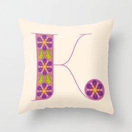 K - Amarilis Throw Pillow