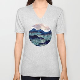 Ocean Sunrise Unisex V-Neck