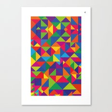 Cores Canvas Print