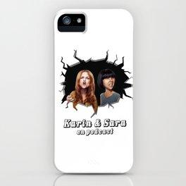 Karin & Sara iPhone Case