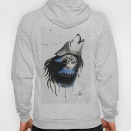 Moon Wolf Hoody