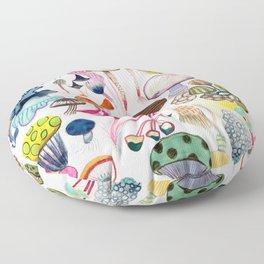 Mushroom Collection - b r i g h t s Floor Pillow