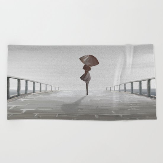 Bridge Beach Towel