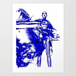 Splash: Bruna Tenório Art Print