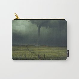 Tornado Coming (Color) Carry-All Pouch