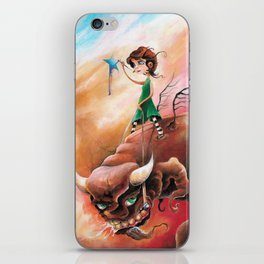 Peace That Conquered Beast iPhone Skin