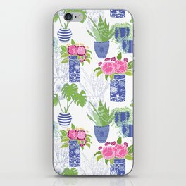 Chinoiserie Cactus iPhone Skin