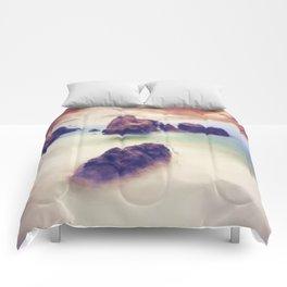 Floating stones Comforters