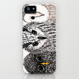 The Three Hooters iPhone Case