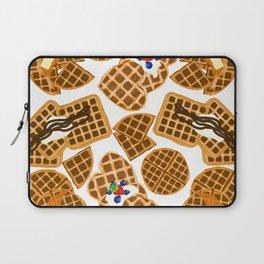Waffle On Laptop Sleeve