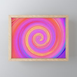 Swirl Framed Mini Art Print