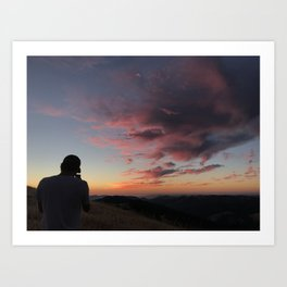 Untitled Sunset #3 Art Print