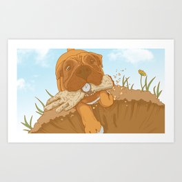 Treats! Art Print