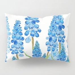 blue grape  hyacinth forest Pillow Sham
