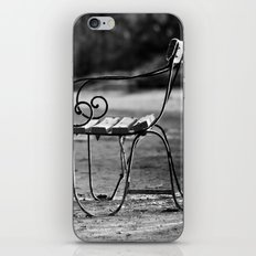 Solitary Park Bench iPhone & iPod Skin