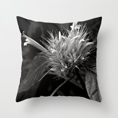 Bizzarre Flower Charm Throw Pillow