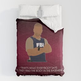 Criminal Minds - Morgan Comforters