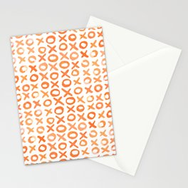 Xoxo valentine's day - orange Stationery Cards