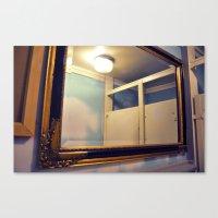 bathroom Canvas Prints featuring Bathroom by Melissa Martinez