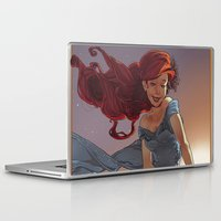 1989 Laptop & iPad Skins featuring NOUVEAU 1989 by Lettie Bug