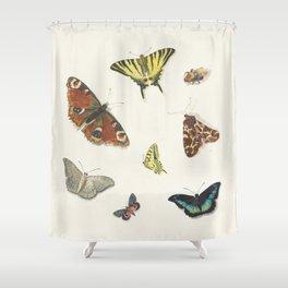 Ensemble de papillons  {II/II} Shower Curtain
