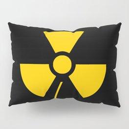 Radioactive flower Yellow design Pillow Sham