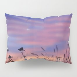 LOOK OUTSIDE - Flowers & Sunset #1 #art #society6 Pillow Sham