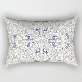African Porcelain Rectangular Pillow
