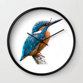 River Kingfisher Wall Clock