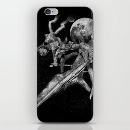 Don Quixote and Sancho. iPhone Skin