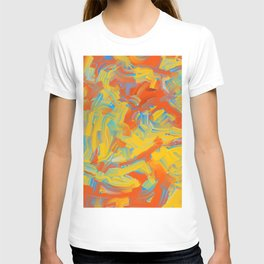 Coarse Brushstrokes T-shirt