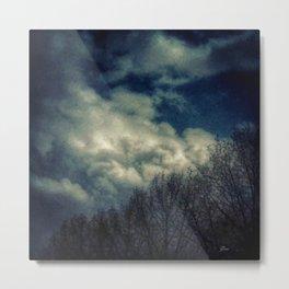 Evening Sky Metal Print