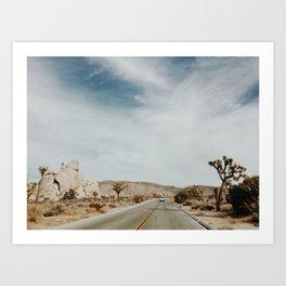Joshua Tree, California Art Print