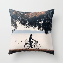 Into the Nature II Throw Pillow