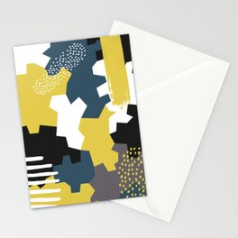 Abstract 2 Stationery Cards