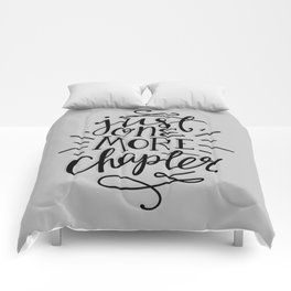 One More Chapter Minimalist Comforters