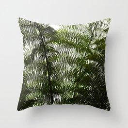 Fern Wall Throw Pillow